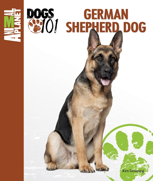 German Shepherd Dog book cover